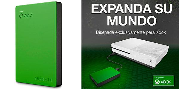 Chollo Disco duro externo Seagate Game Drive para Xbox de 4 TB