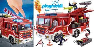 Chollo Set Camión de Bomberos con luz y sonido de Playmobil