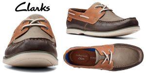 Chollo Zapatos náuticos Clarks Noonan Lace para hombre