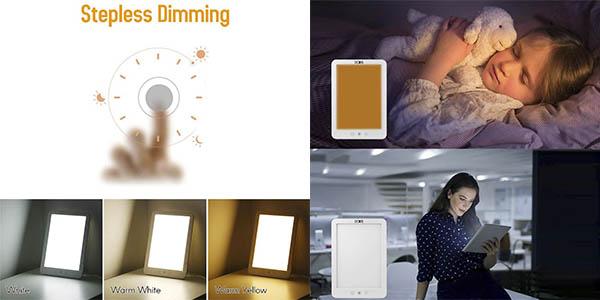 Decdeal lámpara luminoterapia relación calidad-precio