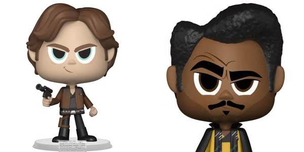 Pack Funko Vynl Star Wars: Han Solo + Lando Calrissian barato