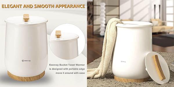 Keenray calentador toallas chollo