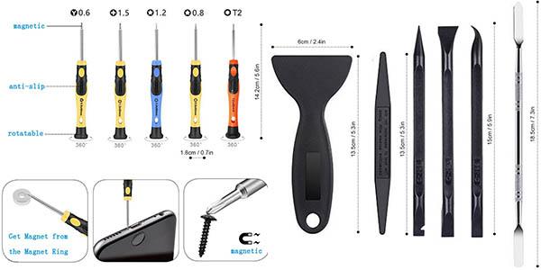 Kit de herramientas de reparación electrónicas AUTOPkio 24 in 1
