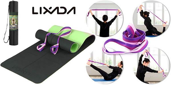 Esterilla de yoga antideslizante Lixada de 2 caras