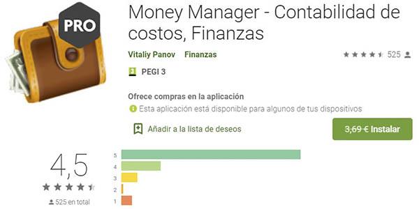 Money Manager Pro app gratis