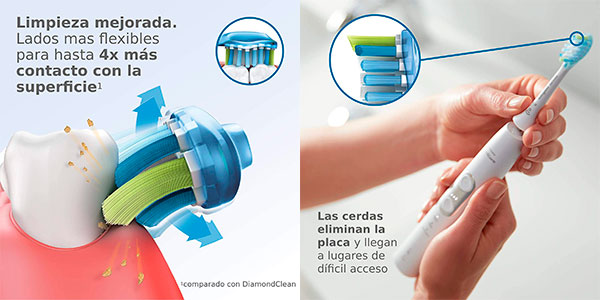 Pack de 2 cabezales para cepillo eléctrico Philips Sonicare barato