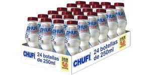 Pack x24 botellines de horchata de chufa Chufi 100% de Valencia de 250 ml/ud barato en Amazon