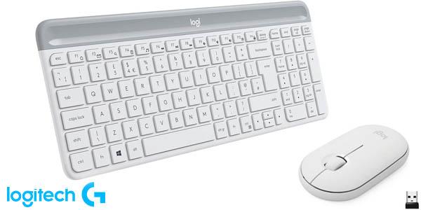 Combo teclado y ratón inalámbrico Logitech MK470