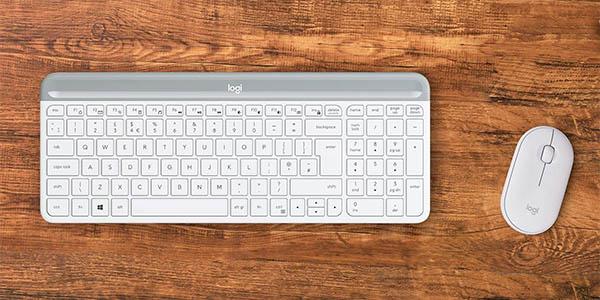 Combo teclado y ratón inalámbrico Logitech MK470 rebajado
