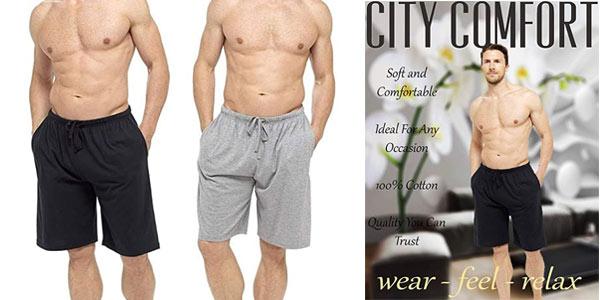 Pantalones cortos CityComfort Relax para hombre baratos