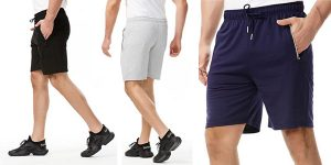 Pantalones cortos Wellqua para hombre baratos en Amazon