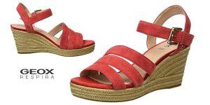 Sandalias de cuña Geox D Soleil C para mujer baratas en Amazon