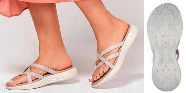 Sandalias Skechers On The Go 600 Dainty para mujer baratas