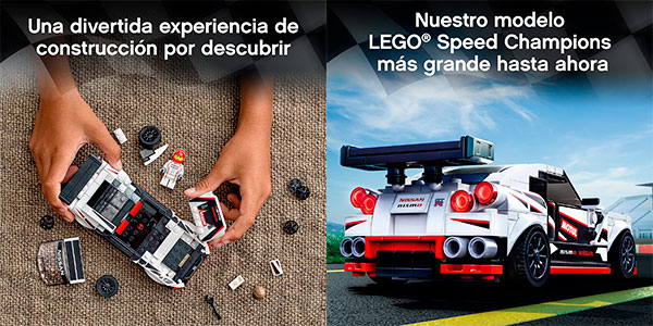 Set Nissan GT-R NISMO de LEGO barato