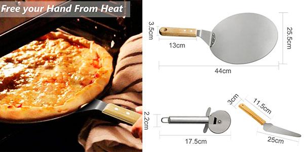 Set TedGem de pala y cortador de pizzas barato