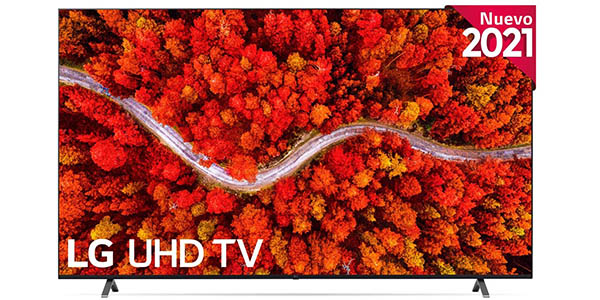 Smart TV LG UP8000-ALEXA 2021 UHD 4K HDR IA