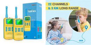 Walkie Talkies infantiles en oferta en Amazon