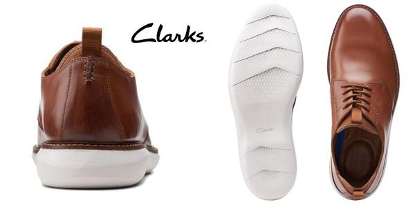 Zapatos de cordones Clarks Brantin Low para hombre chollo en Amazon