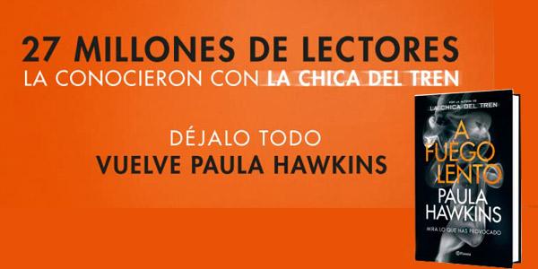 A fuego lento versión Kindle de Paula Hawkins chollo en Amazon