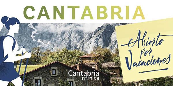 Abierto por vacaciones Cantabria promoción