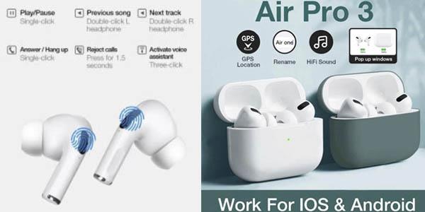 Air Pro 3 auriculares inalámbricos chollo