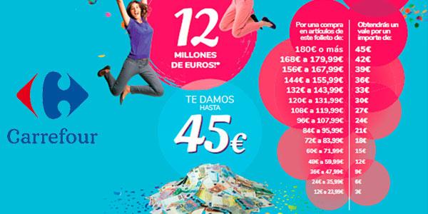 Aniversario de Carrefour 2021 vales descuento