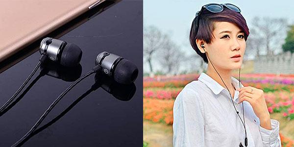 Auriculares SoundMAGIC E50C Hi-FI con micro y aislamiento de sonido baratos