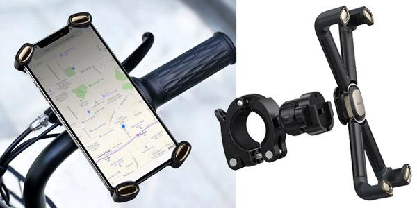 Soporte de teléfono móvil para bicicleta Baseus barato en AliExpress