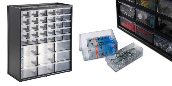 Caja de almacenamiento Stanley 1-93-981 con 39 compartimentos barata en Amazon