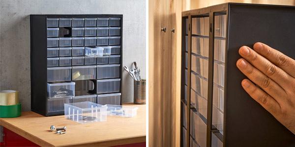 Caja de almacenamiento Stanley 1-93-981 con 39 compartimentos chollo en Amazon