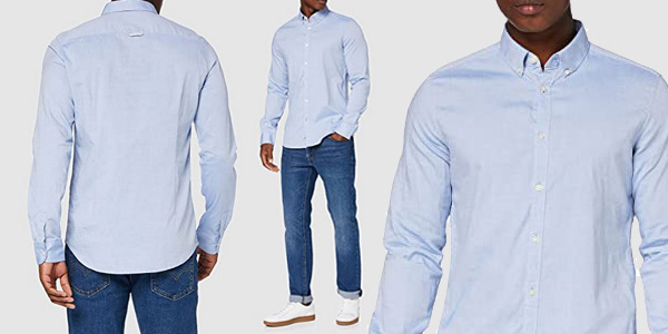 Camisa Tom Tailor Casual 1008320 para hombre barata en Amazon