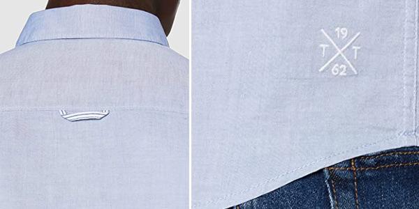 Camisa Tom Tailor Casual 1008320 para hombre chollo en Amazon