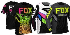Camisetas de ciclismo de montaña Huup fox para hombre baratas en AliExpress