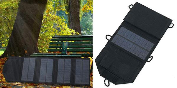 Cargador solar IPRee con 4 paneles barato en BangGood