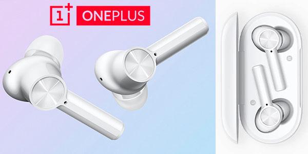 Chollo Auriculares OnePlus Buds Z con estuche de carga