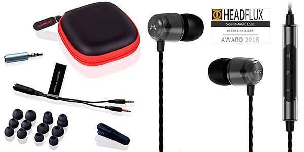 Chollo Auriculares SoundMAGIC E50C Hi-FI con micro y aislamiento de sonido