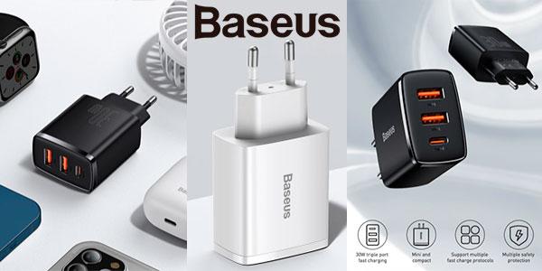 Chollo Cargador Baseus USB-C de 30 W