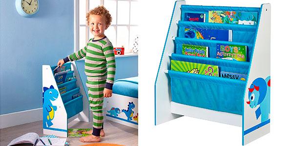 Chollo Estantería infantil Worlds Apart con diseño Dinosaurio