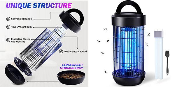 Chollo Lámpara antimosquitos Ughey impermeable