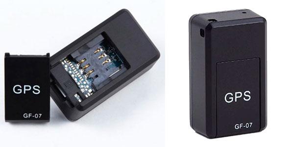 Chollo Mini rastreador GPS GF-07