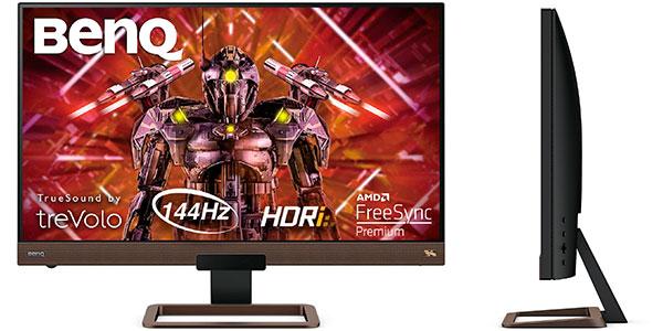 """Chollo Monitor gaming BenQ EX2780Q de 27"""" 2K QHD de 144 Hz"""