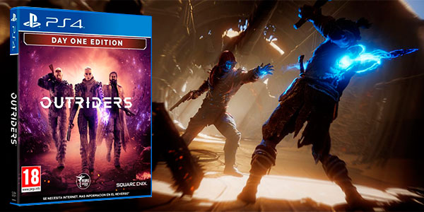 Chollo Outriders Day One Edition para PS4