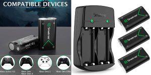 Chollo Pack Smatree Cargador para mandos de Xbox + 3 baterías