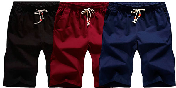 Chollo Pantalones cortos Leezepro para hombre
