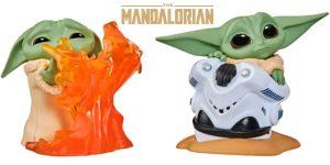 Chollo Set de 2 figuras Baby Yoda de Star Wars The Bounty Collection