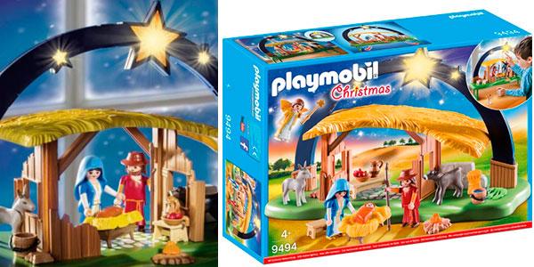 Chollo Set Belén con luz de Playmobil Christmas