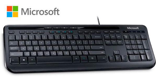 Chollo Teclado Microsoft Wired Keyboard 600