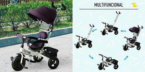 Chollo Triciclo para bebé 4 en 1 Homcom