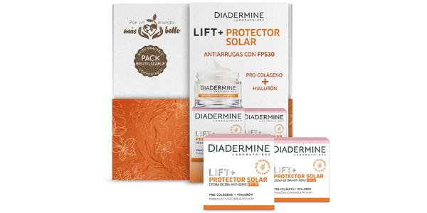 Cofre x2 cremas de día anti-edad Diadermine Lift+ Protector Solar SPF30 chollo en Amazon