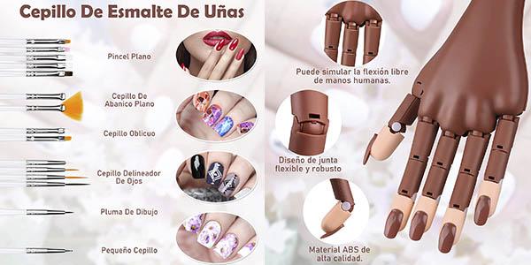 Creamify mano uñas plástico manicura profesional oferta